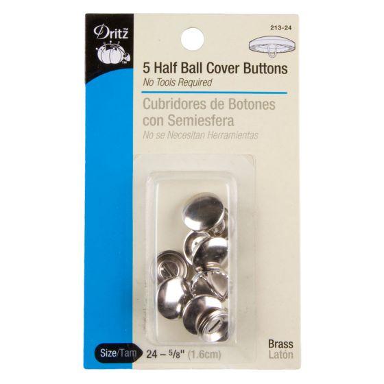 Dritz 5/8 Half Ball Cover Button