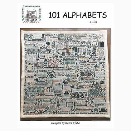 Rosewood Manor 101 Alphabets