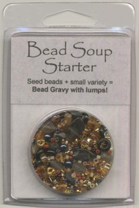 BDST20 Bead Soup Starter Grilled Maize (Amber/Black Bicolor)