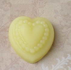 100% Pure Beewax Heart