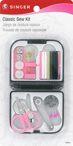 Singer Breast Cancer Sewing Kit Tin
