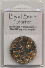 BDST20 Bead Soup Starter Grilled Maize (Amber/Black Bicolor)
