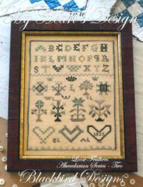 Blackbird My Heart's Design Loose Feather Chart