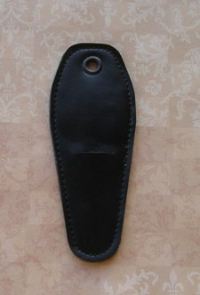 5 inch Black Leather Shealth for Scissor