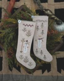 Plum Street Wintertide Friends Stockings