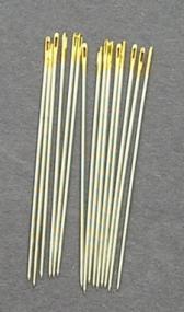 Bulk Premium Gold Eye Brazilian Milliner Needles size 5 (15)
