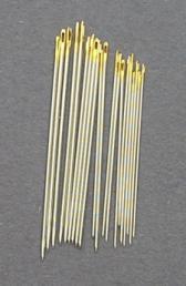 Bulk Premium Gold Eye Brazilian Milliner  Mixed 20 needles(1,3,5, 7)