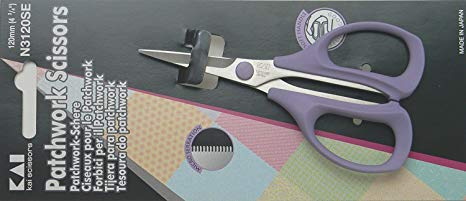 Kai Scissors 3120 4 and 3/4 in Patchwork