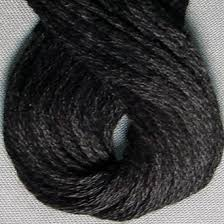 1 6-Ply Floss - SHADED & Solids  (1 - Black)