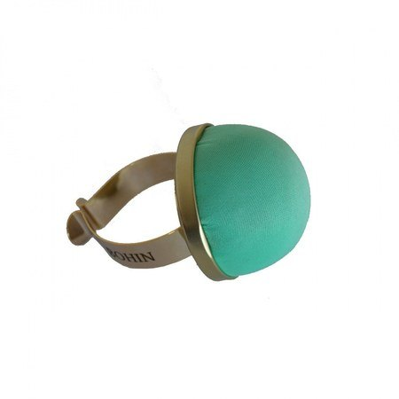 Water Green Pincushion with Gilded Bracelet Bohin #98809