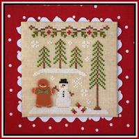 Cottage GB Gingerbead Boy and Snowman gingerbread