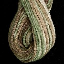 6-Ply Floss - SHADED & Solids  (JP9 - Herb Garden - Muddy Monet Collection)