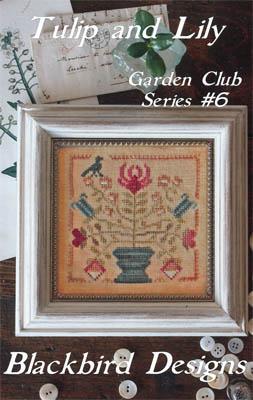 Blackbird Garden Club 6 Tulip and Lily Thread pack