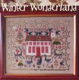 Blackbird Loose Feather #39  Winter Wonderland With Thread Pack