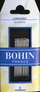 Bohin 0220 Sharps Size 8 (20 needles)