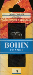 Bohin 0321 Between / Quilting Needles Size 9 (20 needles)