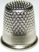Bohin 20302 Standard Nickel Plated Brass Thimble Size 3/0 (1)