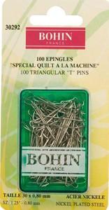 Bohin 30292 Triangular Pin Size 20 - 1 1/4in (100)