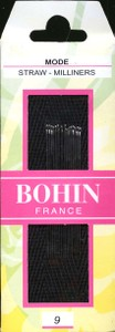 Bohin 0621 Milliners/Straw  size 9 (15 needles)