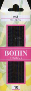 Bohin 0622 Milliners/Straw  size 10 (15 needles)