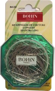 Bohin 84133 Dressmaker Extra Long Pin Size 20 - 1 1/4in (325)