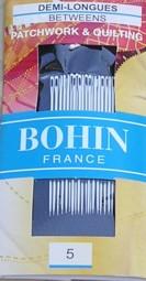 Bohin 0314 Between / Quilting Needles Size 5 (20 needles)