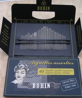 Bohin 180th Anniversary Needle Collection Dark Blue (40 Needles)