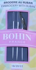 Bohin 0770 Embroidery/Crew Needles Assorted 18/20/22 (3 needles)