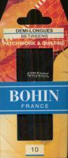 Bohin 0322  Between / Quilting Needles  Sizes 10  (20 needles)