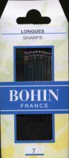 Bohin 0218 Sharps Size 7 (20 needles)