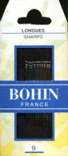 Bohin 0221 Sharps Size 9 (20 needles)
