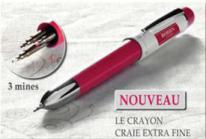 Bohin 91472 3 in 1 Chalk Pencil