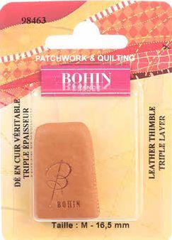 Bohin 98463 Leather Thimble Medium