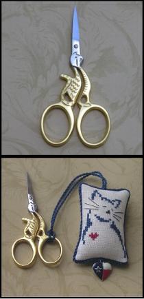 Cat Scissors Gold  Special