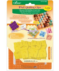 Clover Puff Quilting Clips Set
