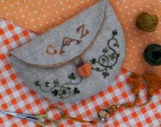 The Drawn Thread Pumpkin Pocket