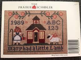 prairie schooler mary had a little lamb