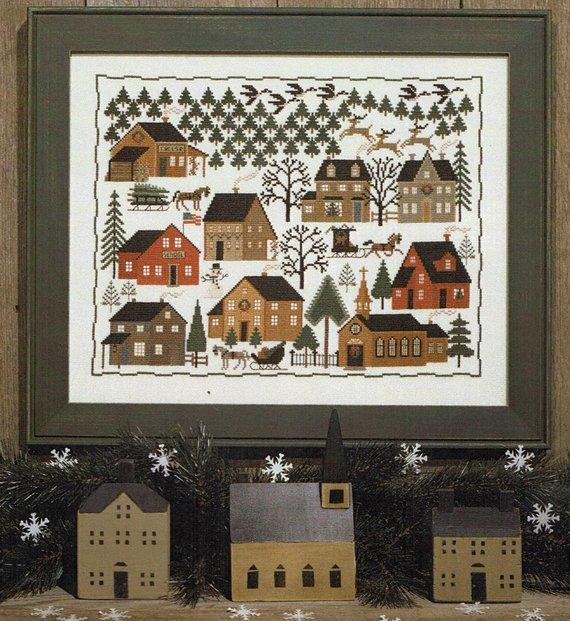 Prairie Schooler Christmas Village