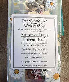 2019 Gentle Art Summer Days Bag