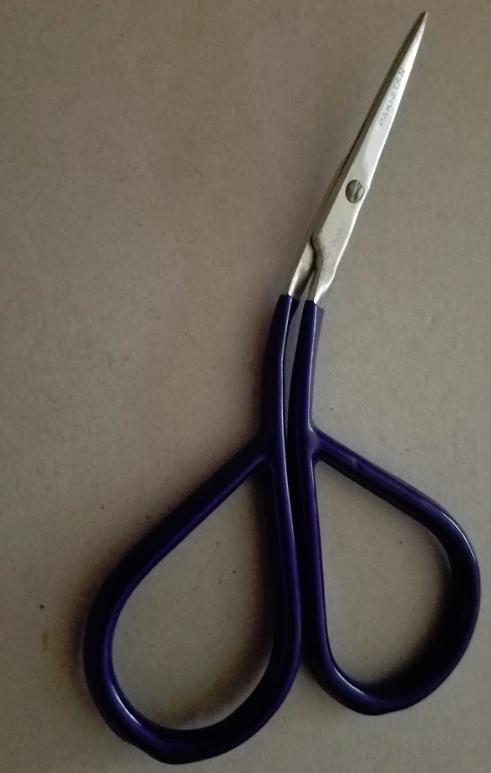 Blue Angle Cut Scissors
