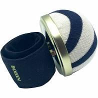 Bohin Pincushion Strap Bracelet Zebra Black and White Stripes 98817