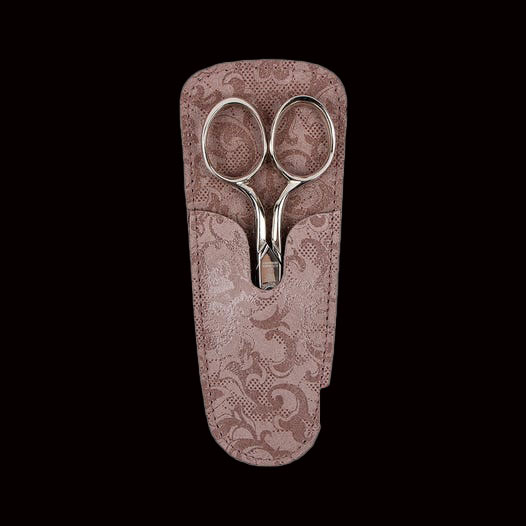 Dovo 29451 4.5 Inch Sewing Scissors with Lavender Sheath