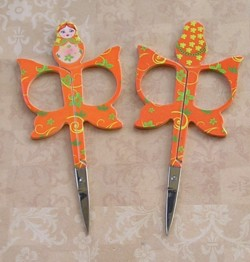 Matryoshka  Scissors Orange
