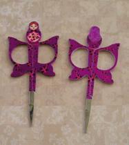 Matryoshka  Scissors Purple