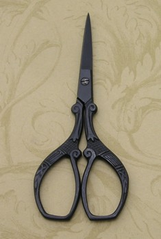 Black Ornate Scissors.JPG