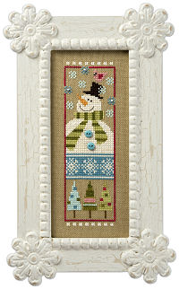 LK 2010 Snowman Snippet Thread Pack