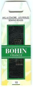 Bohin 01124 Beading  short needle  size 10 (15 needles)