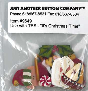 Just Another Button 9649 It's Christmas Time Pack