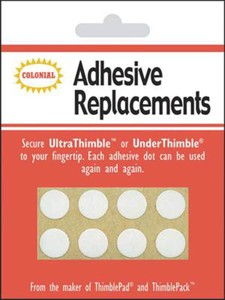 Colonial Needle SM201 Underthimble Adhesive 8/package