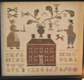 With Thy N & T Candlestick Maker Sampler